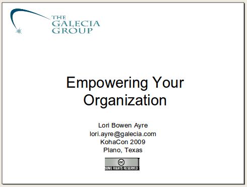 empowering your organization